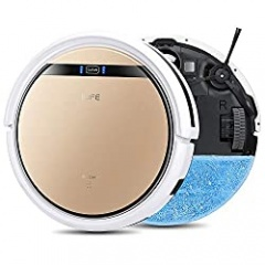 ILIFE V5s Pro, 2-in-1 Mopping,Robot Vacuum, Slim, Automatic Self-Charging Robotic Vacuum, Daily Schedule, Ideal for Pet Hair, Hard Floor and Low Pile Carpet