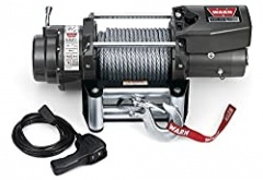 WARN 68801 16.5ti Series Electric 12V Heavyweight Thermometric Winch with Steel Cable Wire Rope