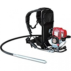 1.6HP Honda Concrete Vibrator with 10ft Flex Shaft Cable Whip Backpack 12000 VPM