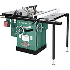 Grizzly Industrial 5 HP 240V Cabinet Table Saw