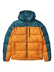 Marmot Men's Guides Down Hoody Warm Down Jacket, Insulated Hooded Winter Coat, Canada Goose Down Parka, Lightweight Packable Outdoor Jacket, Windproof